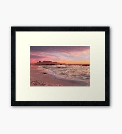 Beautiful Cape Town Framed Print