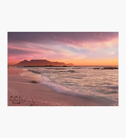 Beautiful Cape Town Photographic Print