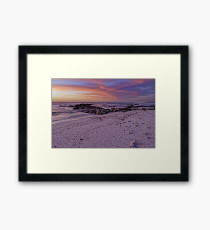 Twilight Sunset Framed Print