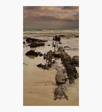 Line Of Stone Photographic Print