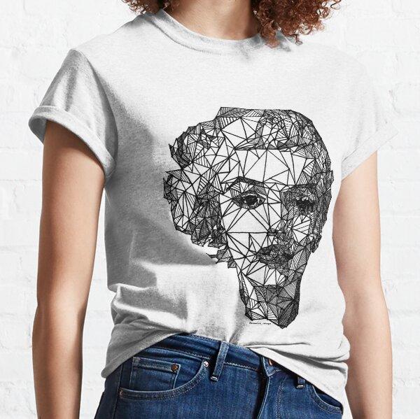 Marilyn Monroe bosquejado a mano Camiseta clásica