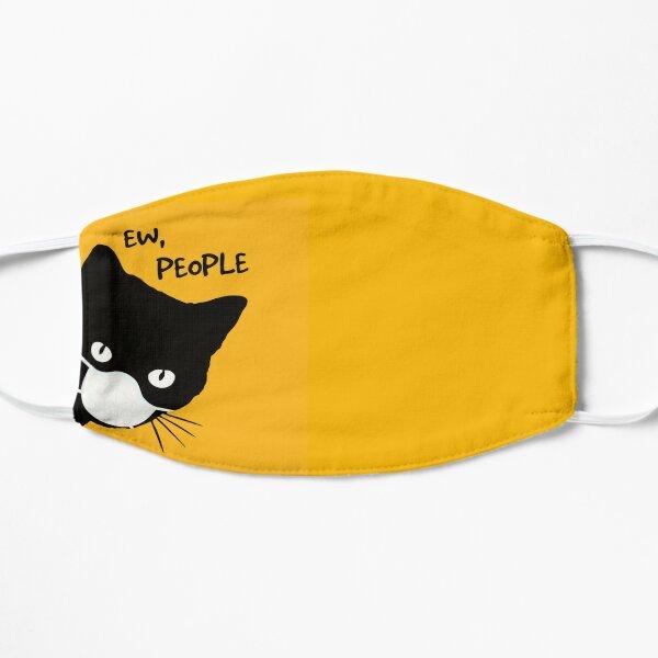 Black Cat Ew People 2020 Quarantined Funny Shirt Mask