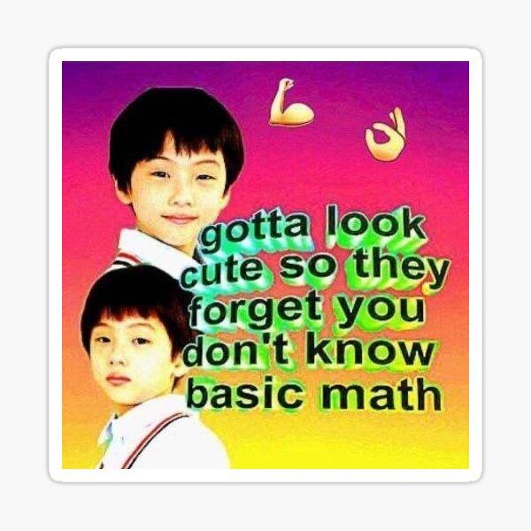 Jisung NCT Meme Pegatina