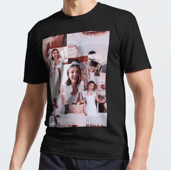Millie Bobby Brown Active T Shirt By Designsbyner Redbubble