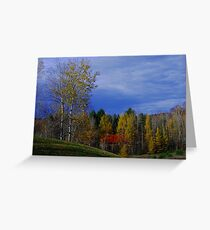 The Slope ! Greeting Card