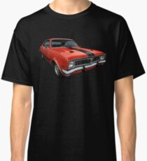 Australian Muscle Car - HT Monaro, Sebring Orange Classic T-Shirt