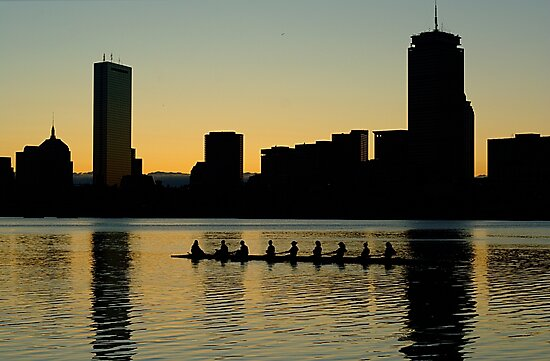 Rowers on the Charles by mricci