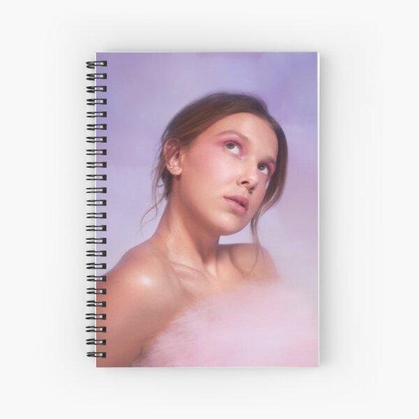 Millie Bobby Brown  Spiral Notebook