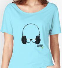 MUSIC GEEK Women's Relaxed Fit T-Shirt