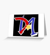 Yu-Gi-Oh GX - Duel Academy Logo Greeting Card