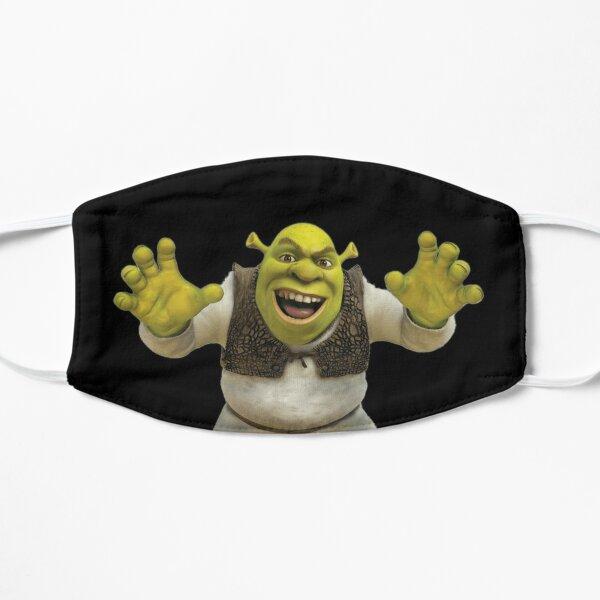 Máscara de Shrek (y más) Mascarilla plana