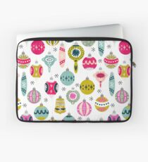 Ornaments - White by Andrea Lauren  Laptop Sleeve