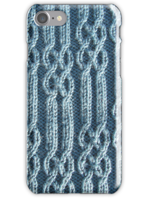 Knitted ribs and braided cables by knititude