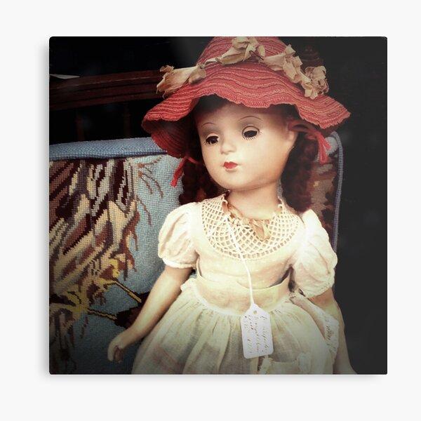 Vintage Doll for Sale Metal Print