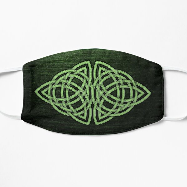 Celtic Knotwork Design by Jason Travis Ott 4 Flat Mask