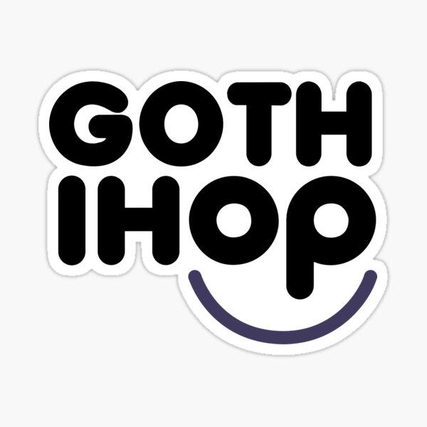 Goth IHOP Sticker