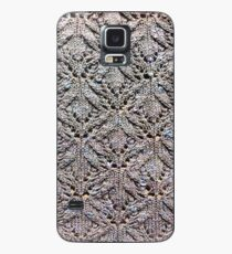 Knitted lace mackerel sky Case/Skin for Samsung Galaxy