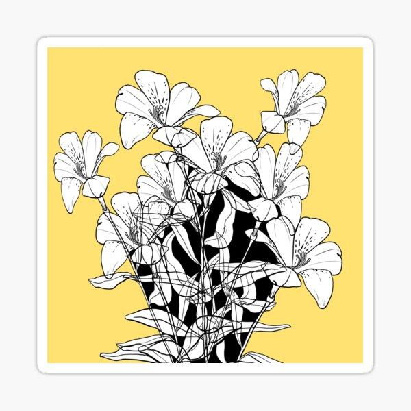 Summertime Yellow Sticker