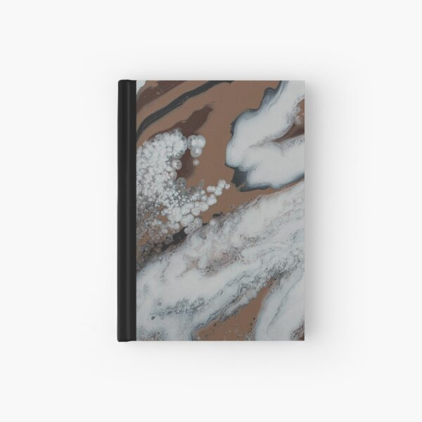 Neutral color artwork Hardcover Journal