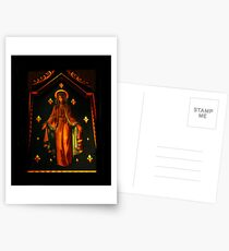 Mother Mary version 2  Postcards