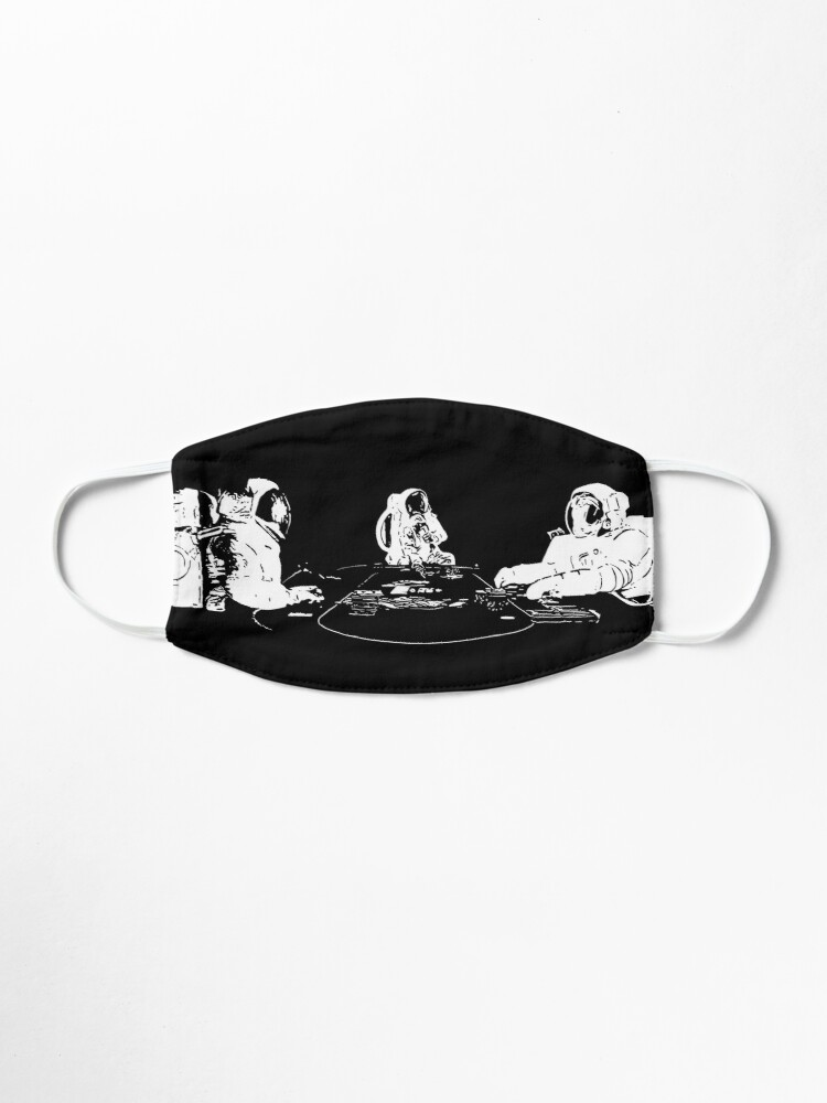 Alternate view of SPACE POKER Mask