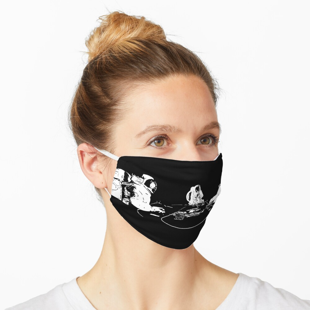 SPACE POKER Mask