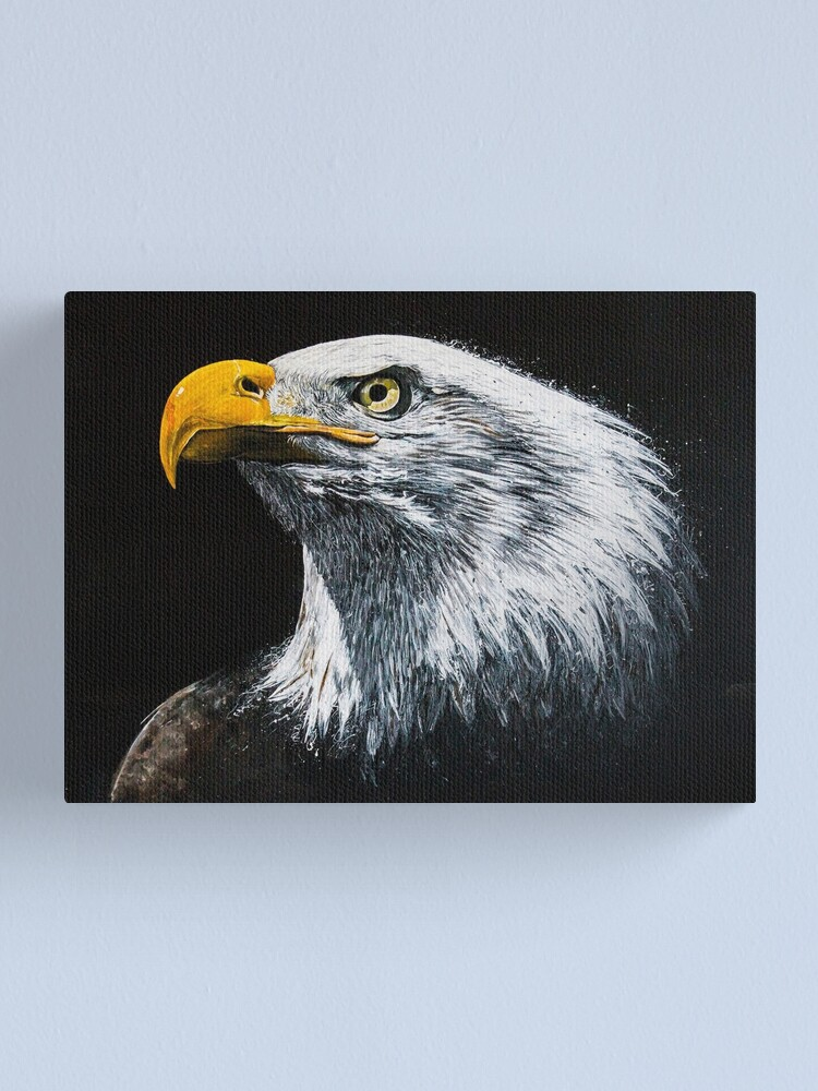 Alternate view of Bald Eagle Canvas Print