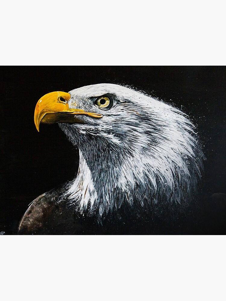 Bald Eagle by handonart-com