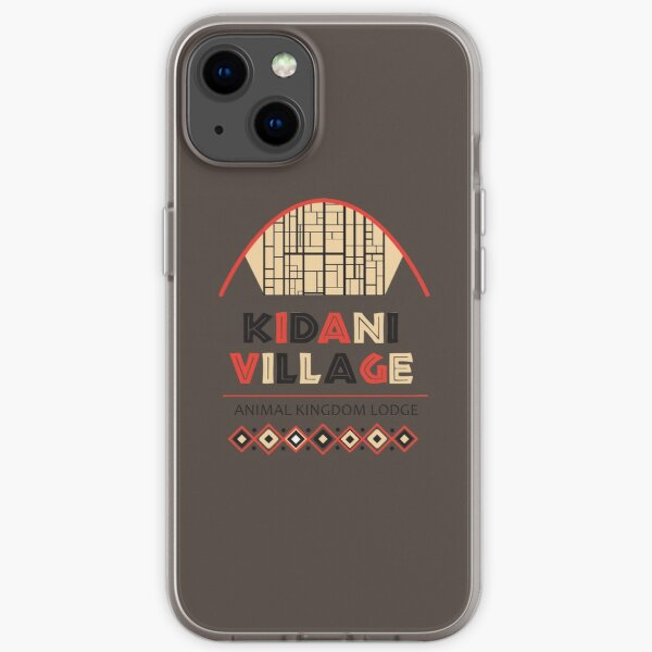 Animal Kingdom Lodge: Kidani Village iPhone Soft Case