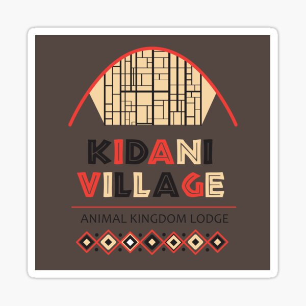 Animal Kingdom Lodge: Kidani Village Sticker