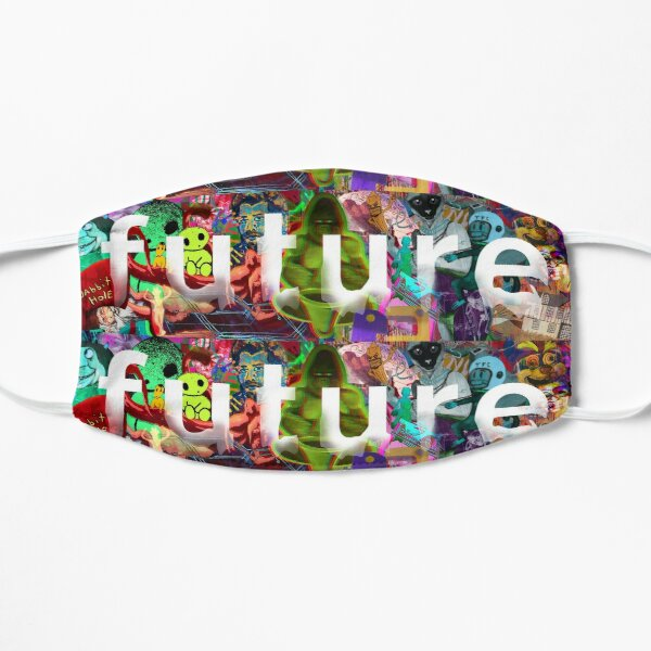 Future Montage Face Mask Flat Mask