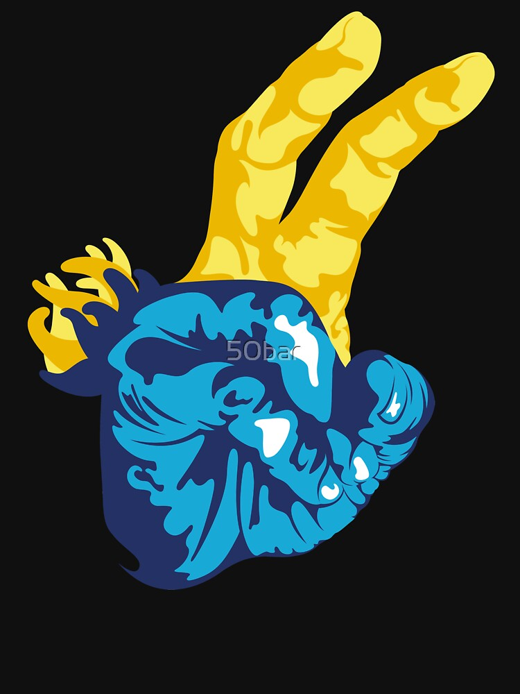 Nudibranch Hand Signal by 50bar