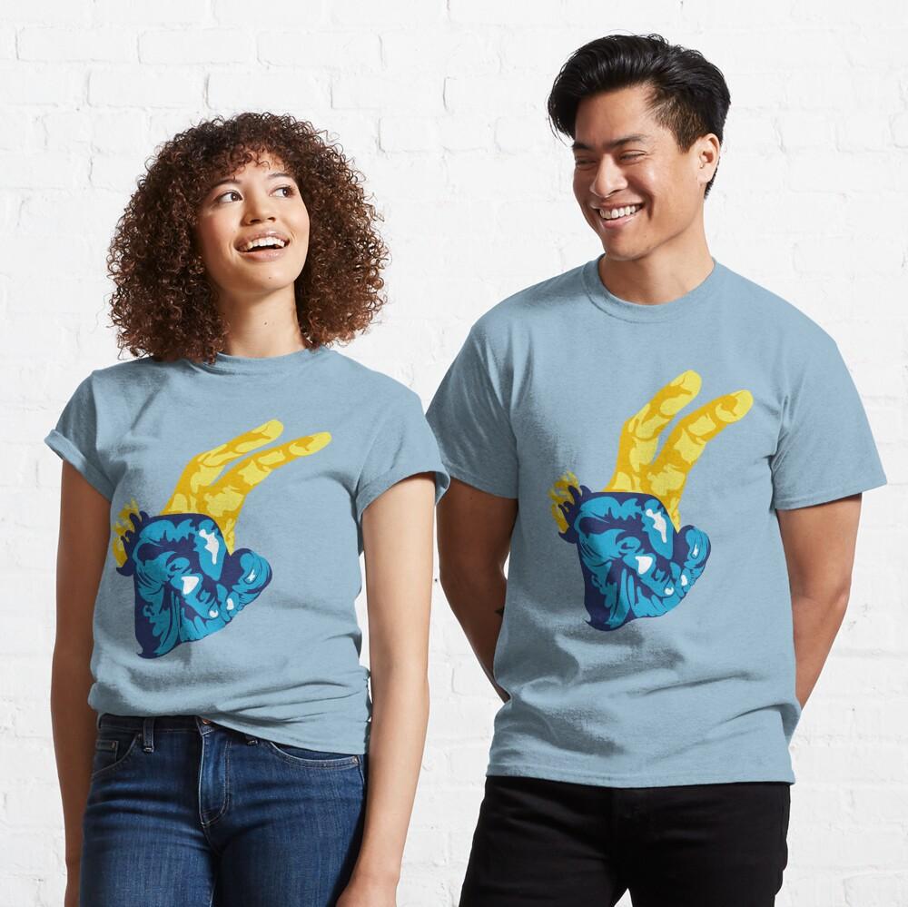 Nudibranch Hand Signal Classic T-Shirt
