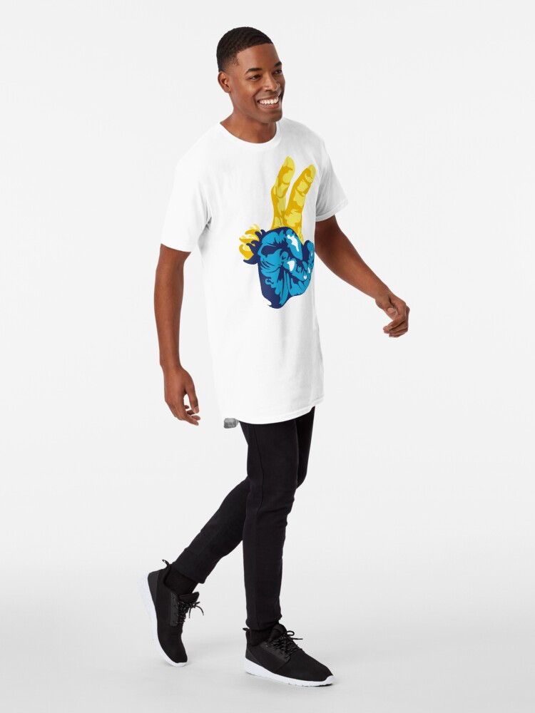Alternate view of Nudibranch Hand Signal Long T-Shirt