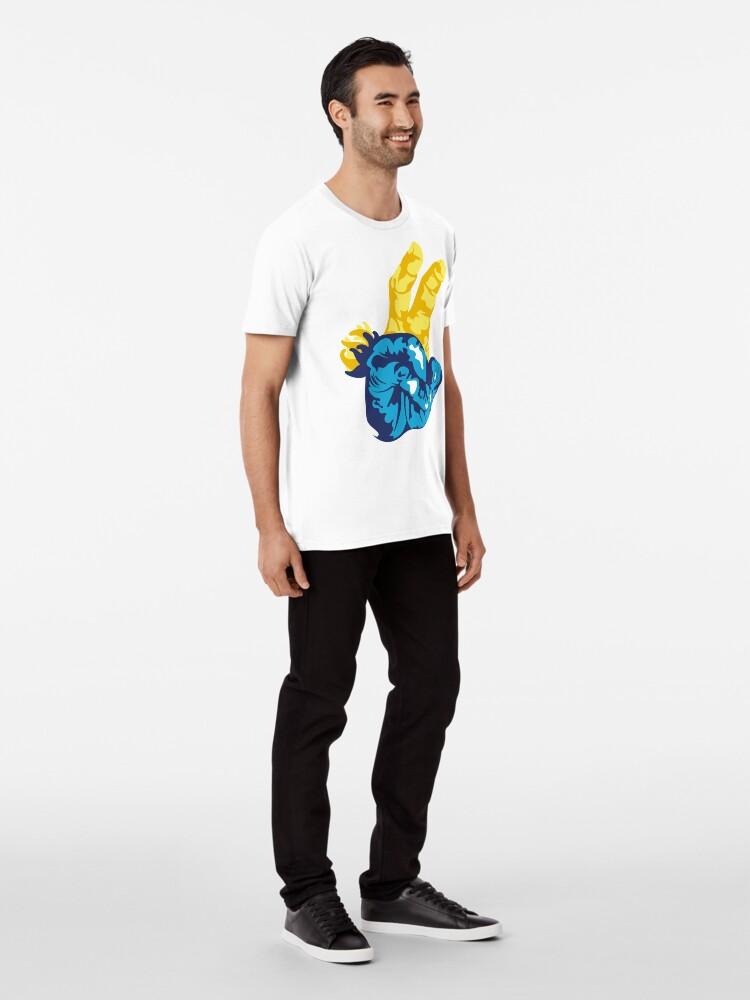 Alternate view of Nudibranch Hand Signal Premium T-Shirt