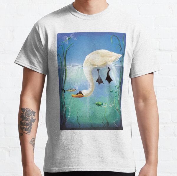 The Swan and the Stickleback Classic T-Shirt