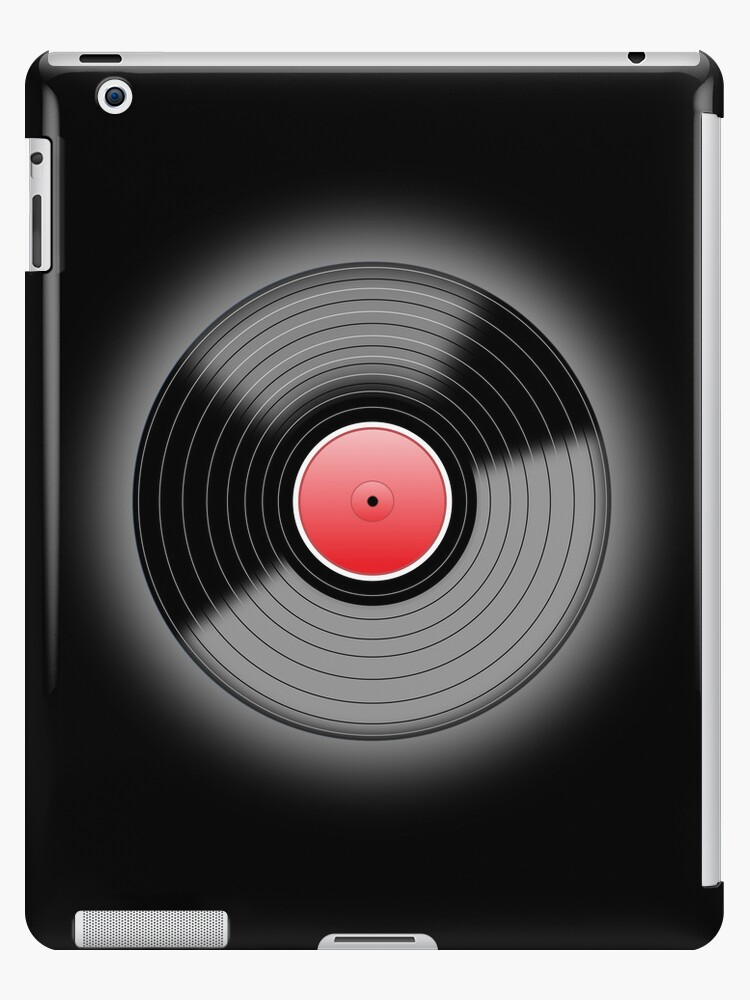Vinyl Record Black by Ra12