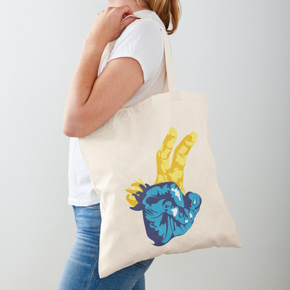 Nudibranch Hand Signal Tote Bag