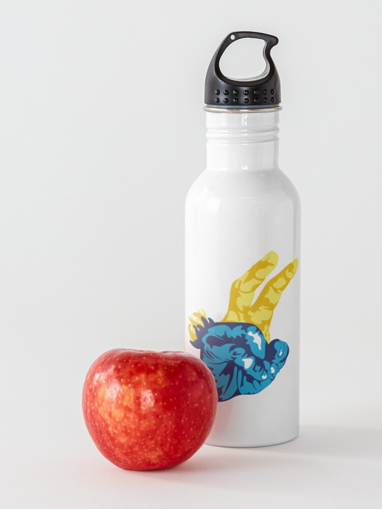 Alternate view of Nudibranch Hand Signal Water Bottle