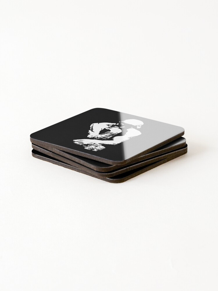 Alternate view of The Thinking Man Poker Coasters (Set of 4)