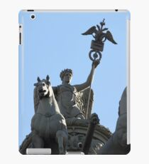 Nike on the triumphal chariot iPad Case/Skin