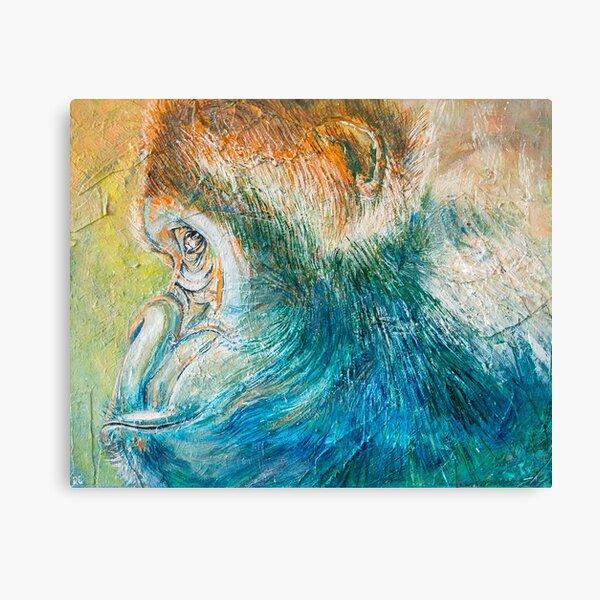 Gorilla Glance Canvas Print