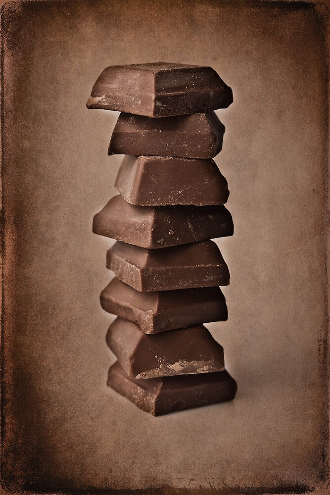 Chocolate squares by Carlos Restrepo