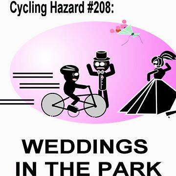 Cycling Hazard - Wedding in the park by HalfNote5