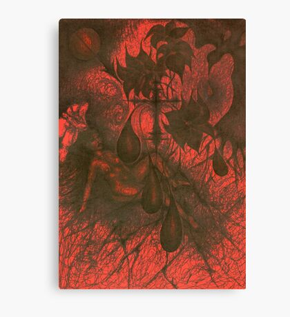 Red Hell Canvas Print