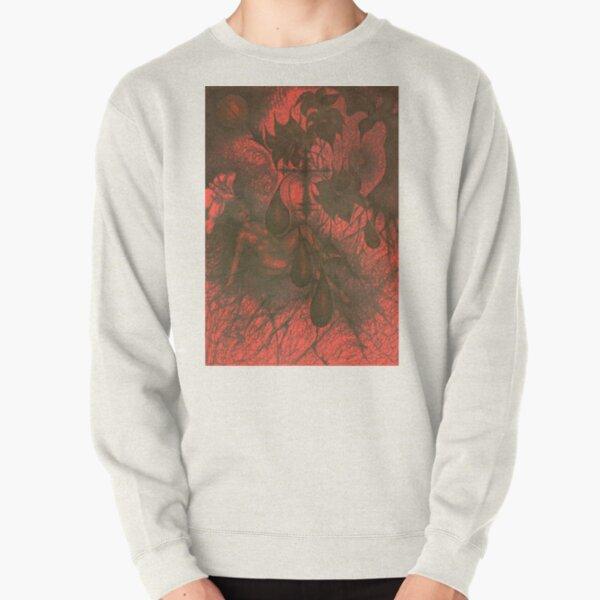 Red Hell Pullover Sweatshirt