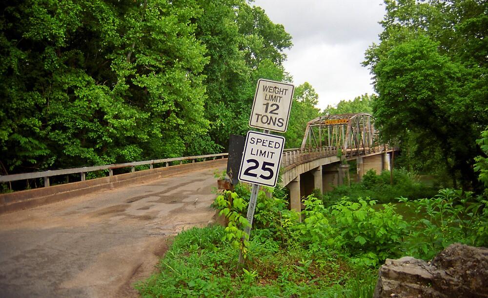 Route 66 - Steel Truss Bridge  by Frank Romeo