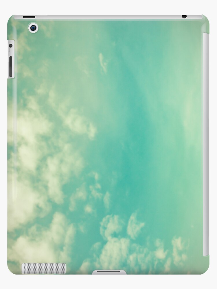 Vinatge - Retro Blue Sky by Caroline Mint