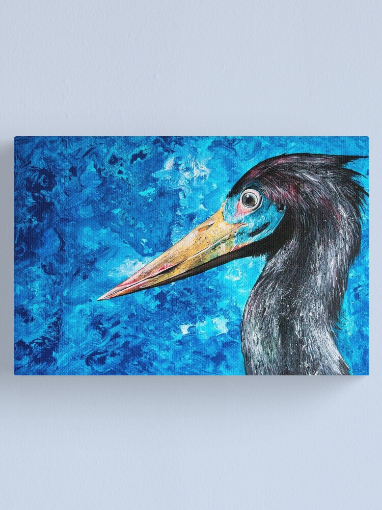 Alternate view of The Stork Canvas Print
