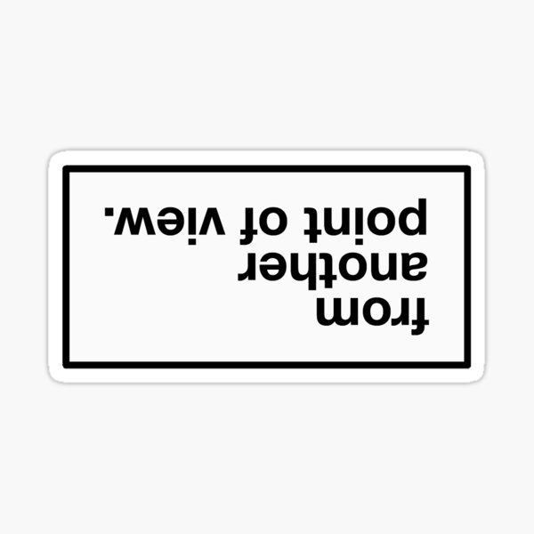 from another point of view Sticker